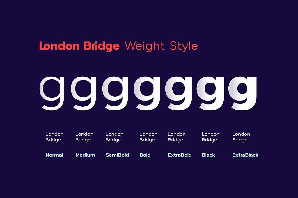 London Bridge 1 - Post
