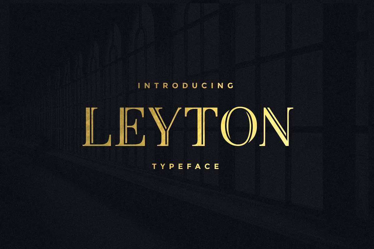 LeytonTypeface 3 - Post