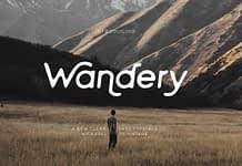 Wandery Font Family