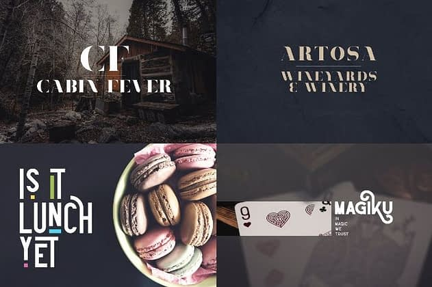 Ultimate Font Collection 14 - Post