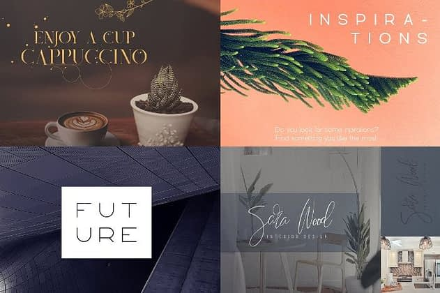 Ultimate Font Collection 15 - Post