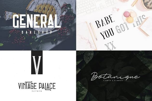 Ultimate Font Collection 22 - Post