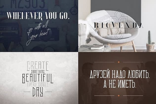 Ultimate Font Collection 23 - Post