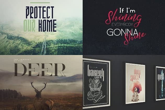 Ultimate Font Collection 24 - Post