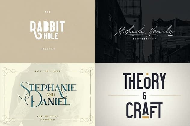 Ultimate Font Collection 29 - Post