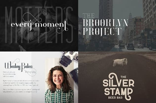 Ultimate Font Collection 32 - Post