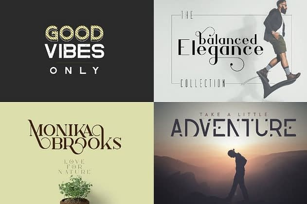 Ultimate Font Collection 34 - Post