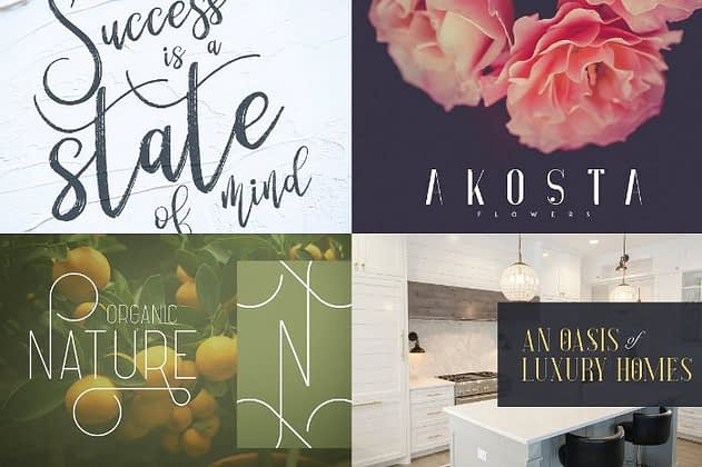 Ultimate Font Collection 37 - Post