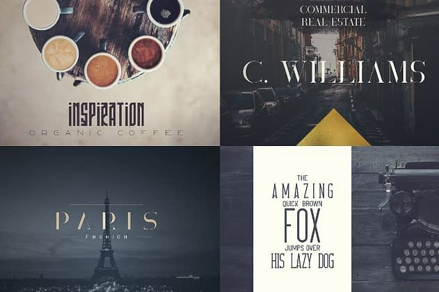 Ultimate Font Collection 39 - Post