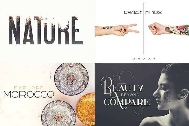 Ultimate Font Collection 40 - Post