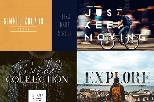 Ultimate Font Collection 43 - Post