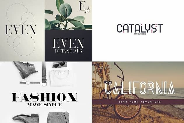 Ultimate Font Collection 50 - Post