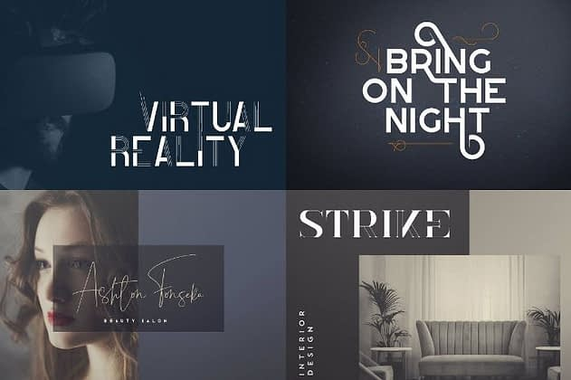 Ultimate Font Collection 51 - Post