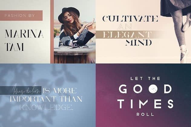 Ultimate Font Collection 52 - Post