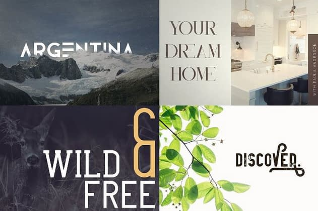 Ultimate Font Collection 55 - Post
