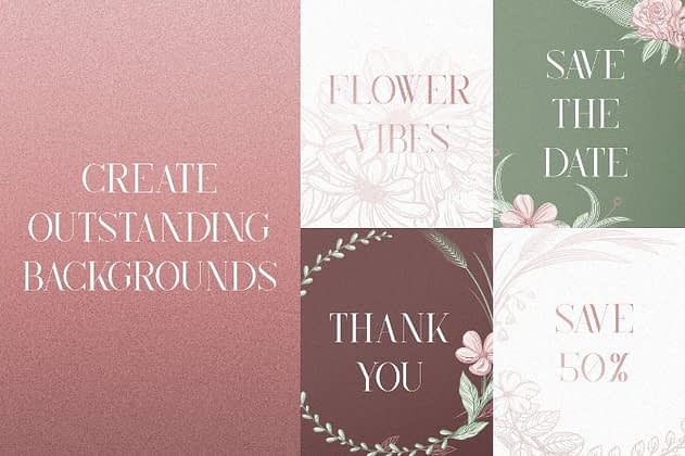Ultimate Font Collection 7 - Post