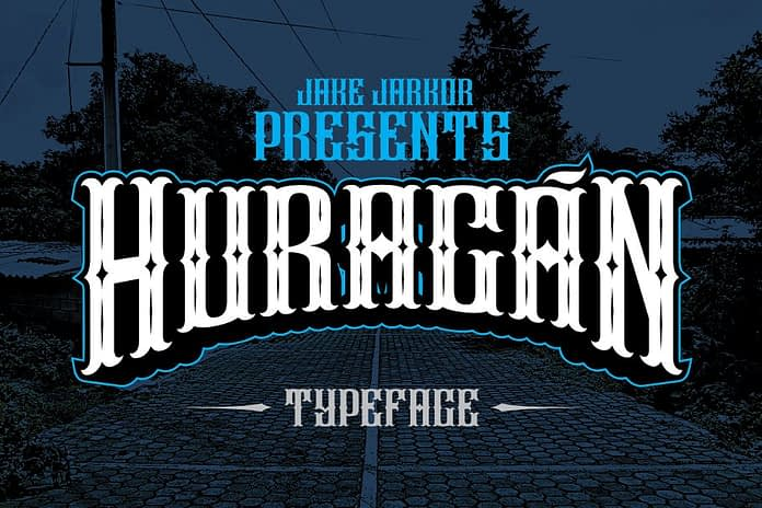 HURACÁN Font Family Free Download 1 - Post