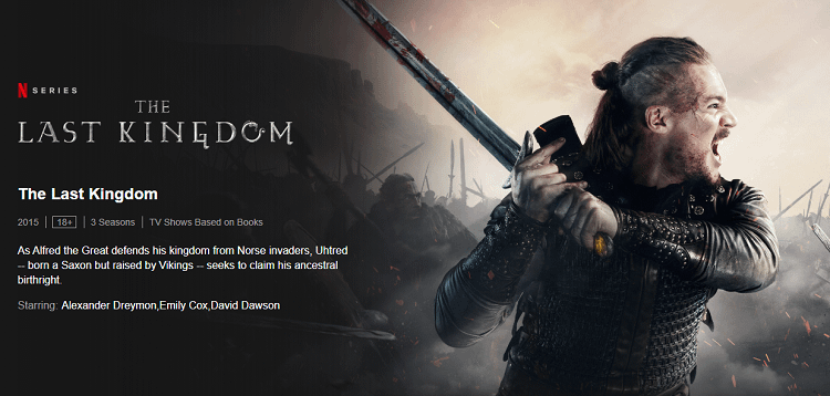 the last kingdom - Post
