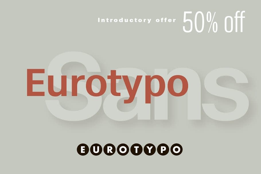 Eurotypo Sans 2 - Post