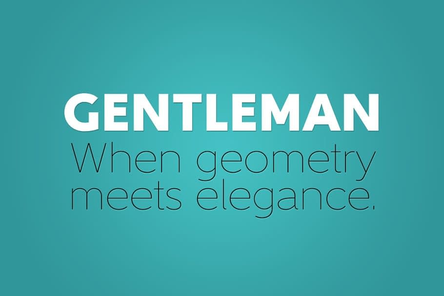 Gentleman Complete Family 2 - Post