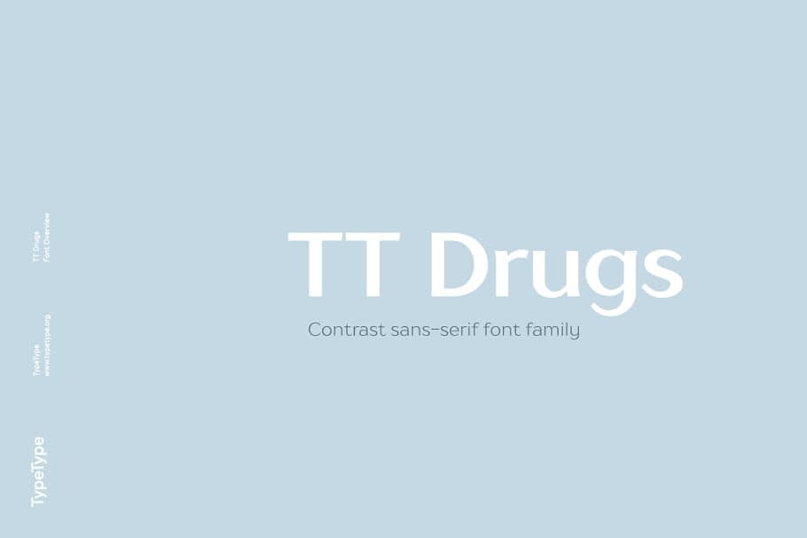 TT Drugs Font 2 - Post